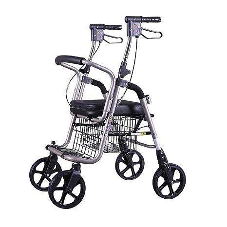 Andador De Andador De Aluminio Plegable Ligero Y Premium ...