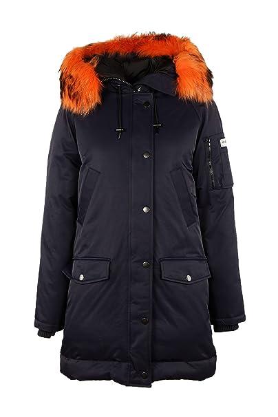Kenzo parka cazadoras chaqueta de mujer nuevo blu EU S (UK S) F762OU01955077: Amazon.es: Ropa y accesorios