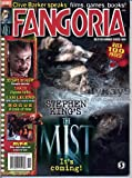Fangoria Magazine 268 THE MIST Clive Barker AVP-R Rogue I AM LEGEND 30 Days of Night TOBIN BELL November 2007 C