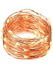 Solarbuy24 Solar Garden Outdoor Solar string lights copper wire 210 LEDs, Waterproof 75.4ft(warmwhite)