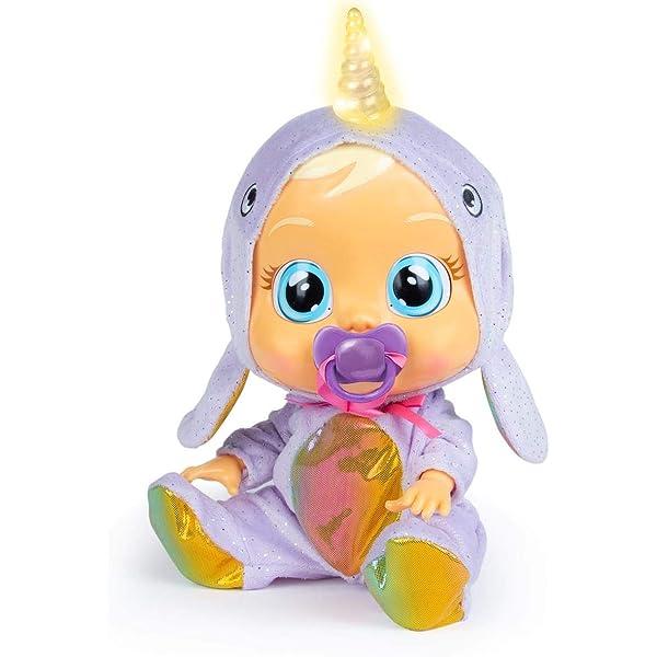 Bebés Llorones Narvie - Muñeca interactiva que ... - Amazon.es