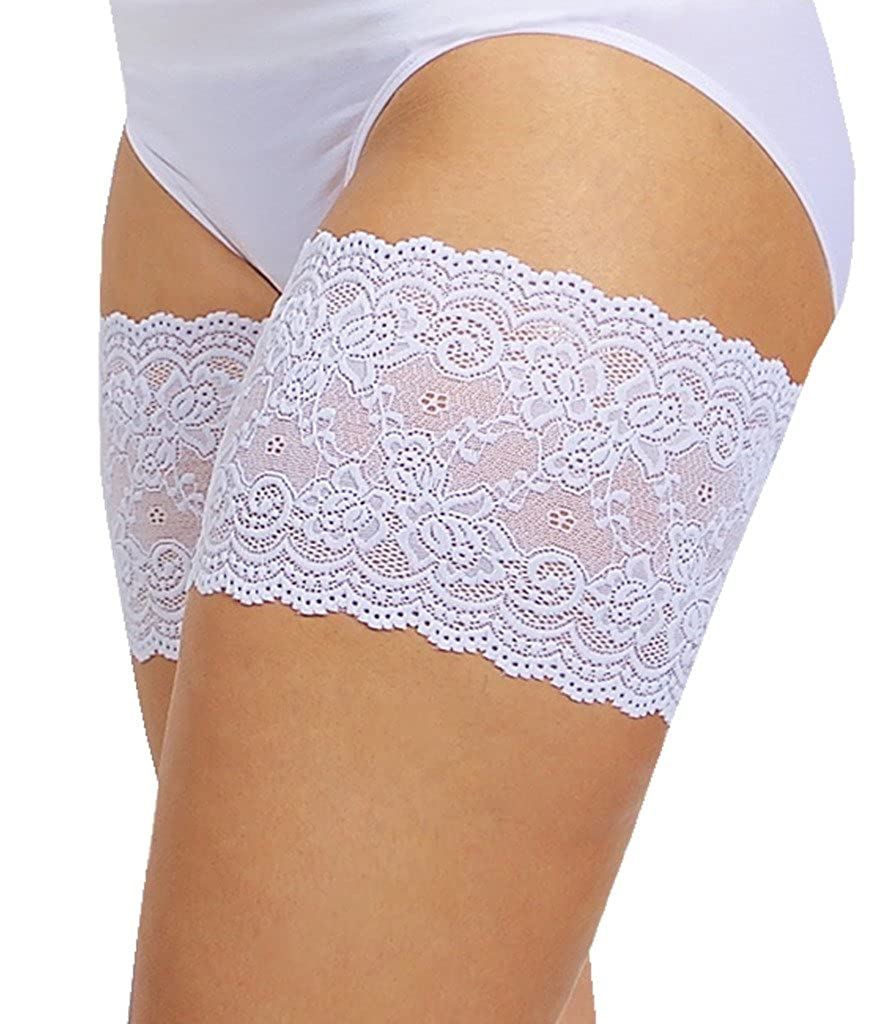 Bandelettes Elastic Lace Thigh Bands to Prevent Chafing 855475004950
