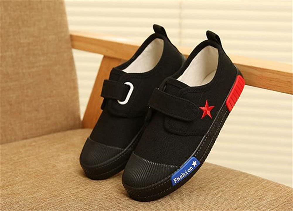 Baby//Toddler//Little Kid//Big Kid Believed Kids Classic Low Top School Canvas Shoes Anti-Collision Sport Sneakers