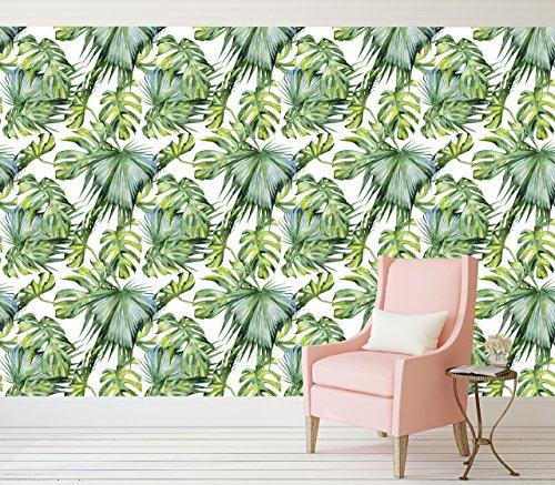 tropical-palm-tree-pattern-peel-and-stick-wallpaper-adhesive-vinyl-wallpaper-pattern-wallscape-remov