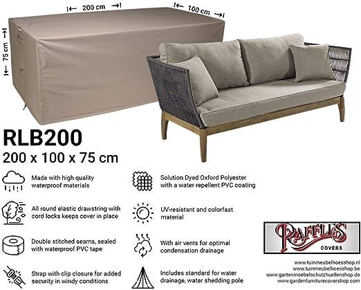 Raffles Covers NW-RLB200Straight - Funda para sofá de 2 o 3 plazas ...