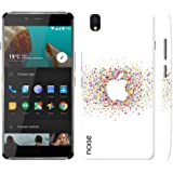 Noise OnePlus X Case/Back Cover + Free Tempered Glass, Noise Designer Premium PolyCarbonate Case Back Cover for OnePlus X [Slim fit, scratch & impact resistant MATTE finish] + Free Premium Tempered Glass (HD) - Screenguard (Apple Spray)