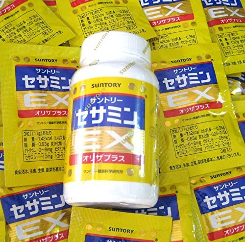 Suntory Sesamin capsules days supply product image