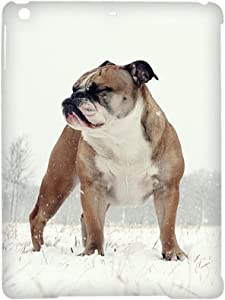 Tyboo Phone Shell for Children Rigid Plastic Durability Have English Bulldog Dog for Ipad Air 1St