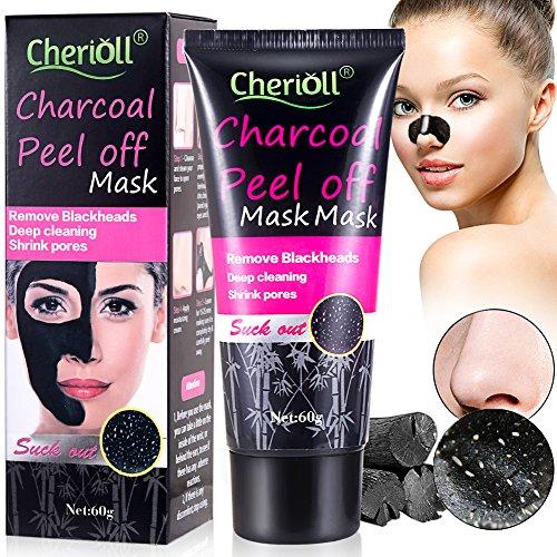 Blackhead Remover Mask,Black Mask,Bamboo Charcoal Blackhead Peel Off Mask ,Deep Cleansing Mask,Purifying Acne Blackhead Mask