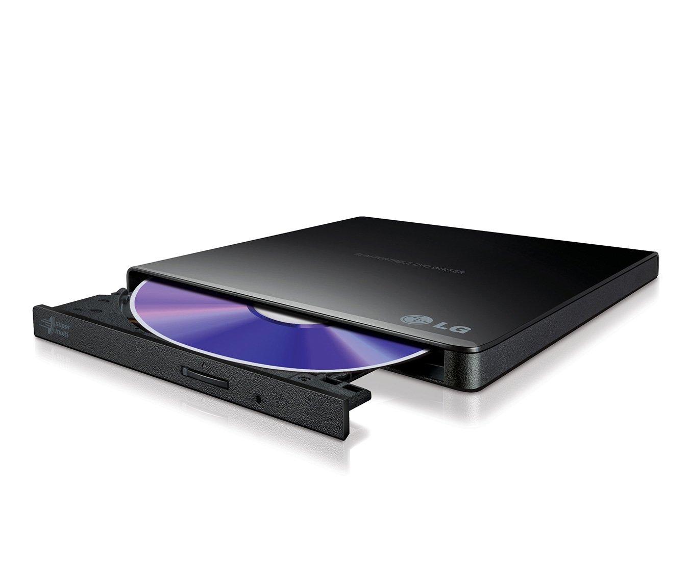 LG Black, Tray, Desktop/Notebook DVD Super Multi DL, USB 2.0, GP57EB40 (DVD Super Multi DL, USB 2.0)