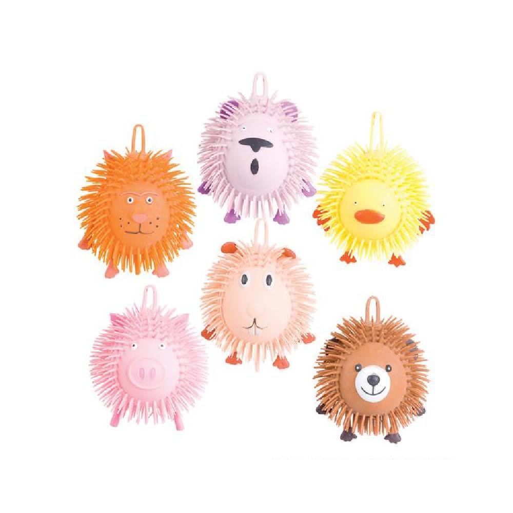 9'' Animal Puffer Ball (With Sticky Notes) by Bargain World