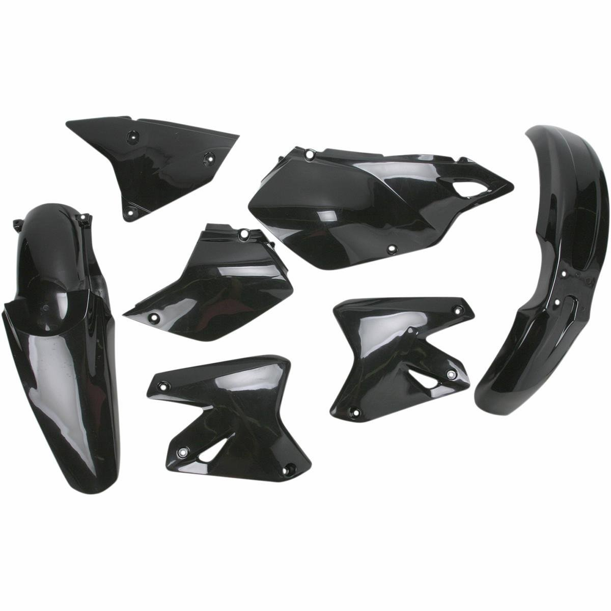 Acerbis Replacement Plastic Kit - Black , Material: Plastic 2041080001 0007586.090