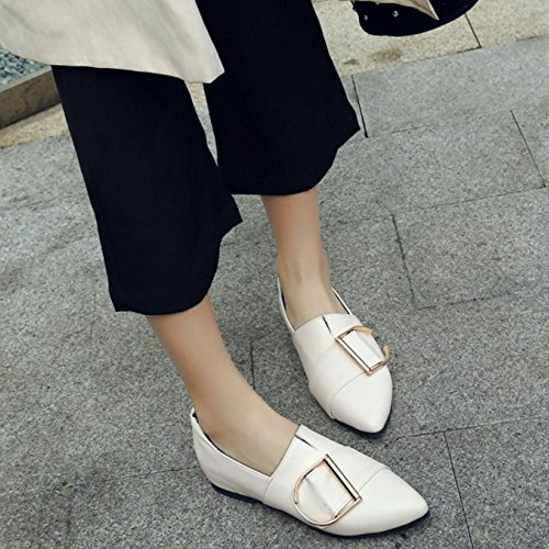 Women Brogue Shoes Fashion Zanpa Beige zXqFZ