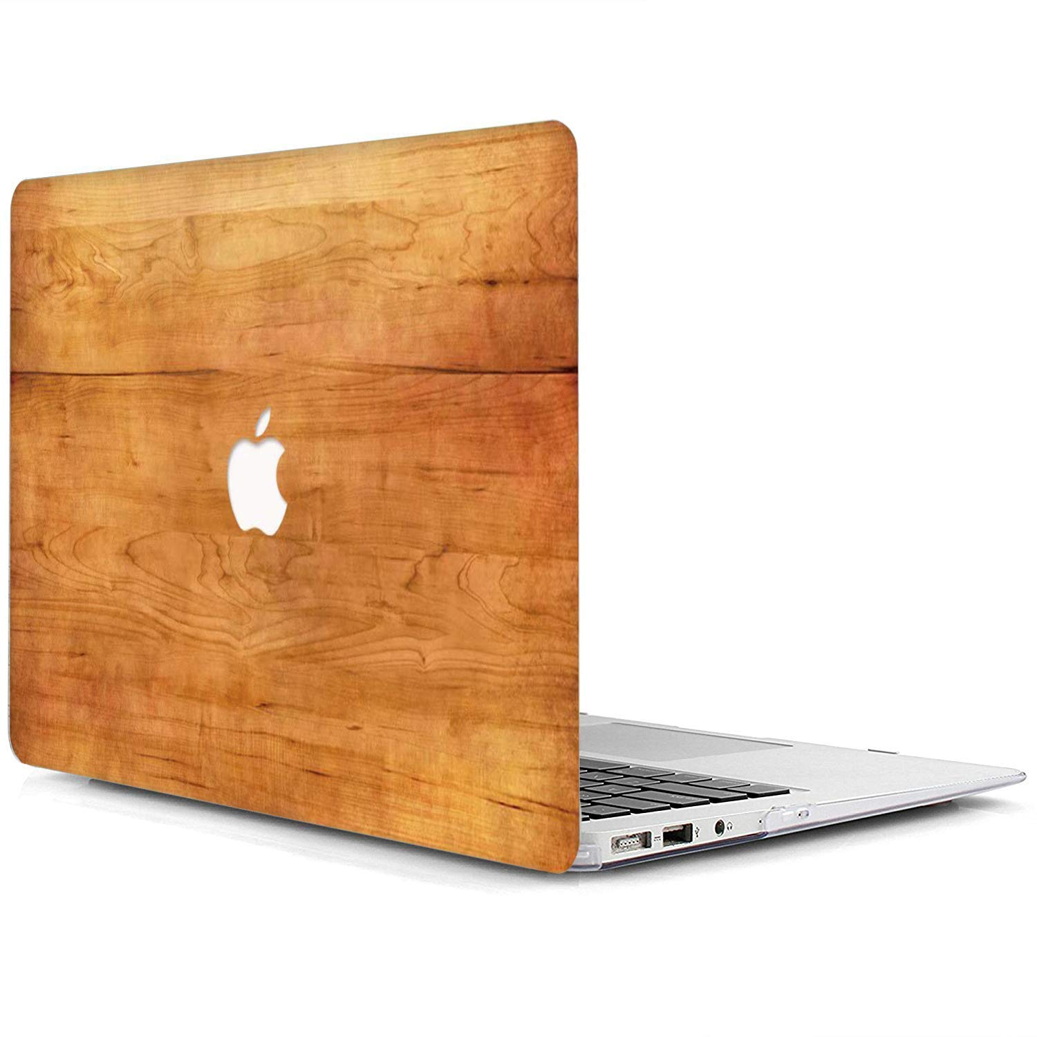 MW393 Brown Wood Grain MacBook Pro 13 Case A1989//A1706//A1708,AJYX Plastic Wood Pattern Laptop Hard Case Shell Cover Compatible Newest Macbook Pro 13 Inch with//without Touch Bar and Touch ID