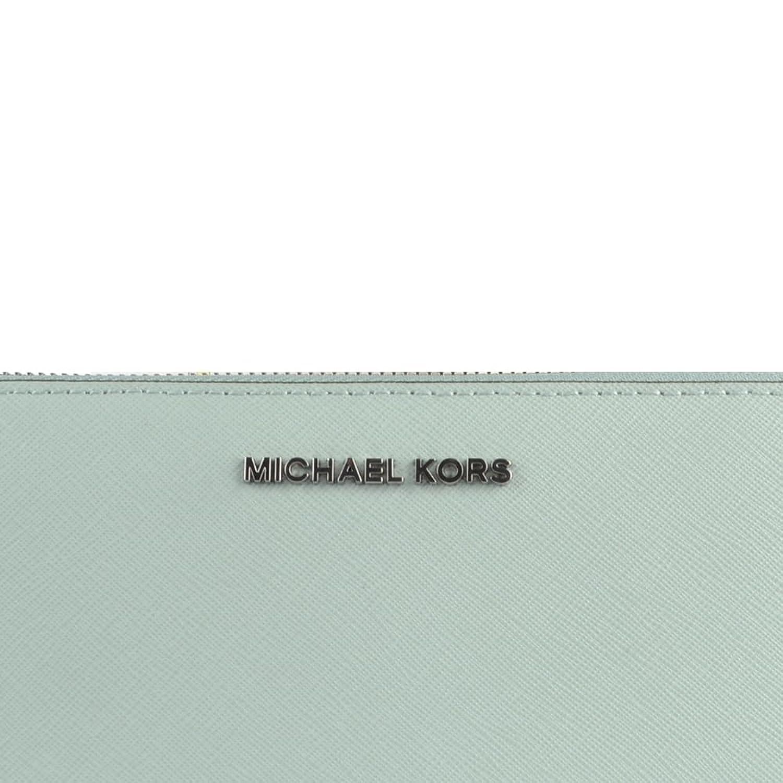 cd98eb2a4f63 MICHAEL by Michael Kors Jet Set Travel Celadon Continental Wallet one size  Celadon: Amazon.co.uk: Shoes & Bags