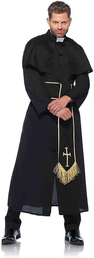 Amazon.com: Leg Avenue - Disfraz de sacerdote católico y ...