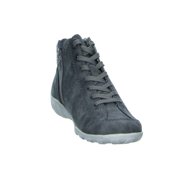 Rieker Damen Schnuerschuhe Sneaker SmokeSilverStaubSilber 3Pjpr