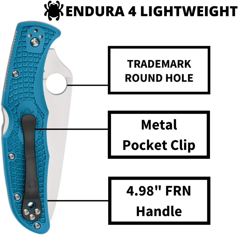 Verde Adultos un tama/ño Spyderco SC10ZFPGR Cuchillo tascabile,Unisex