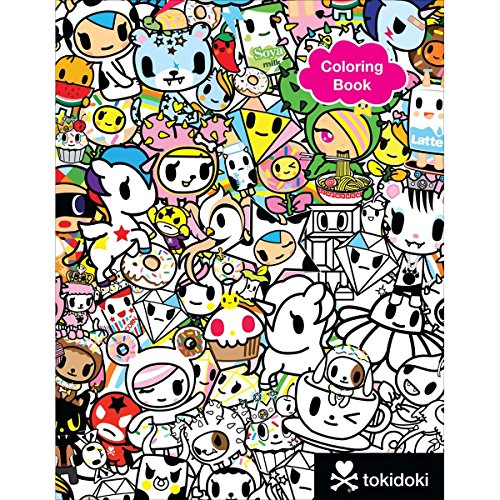 coloring book kawaii