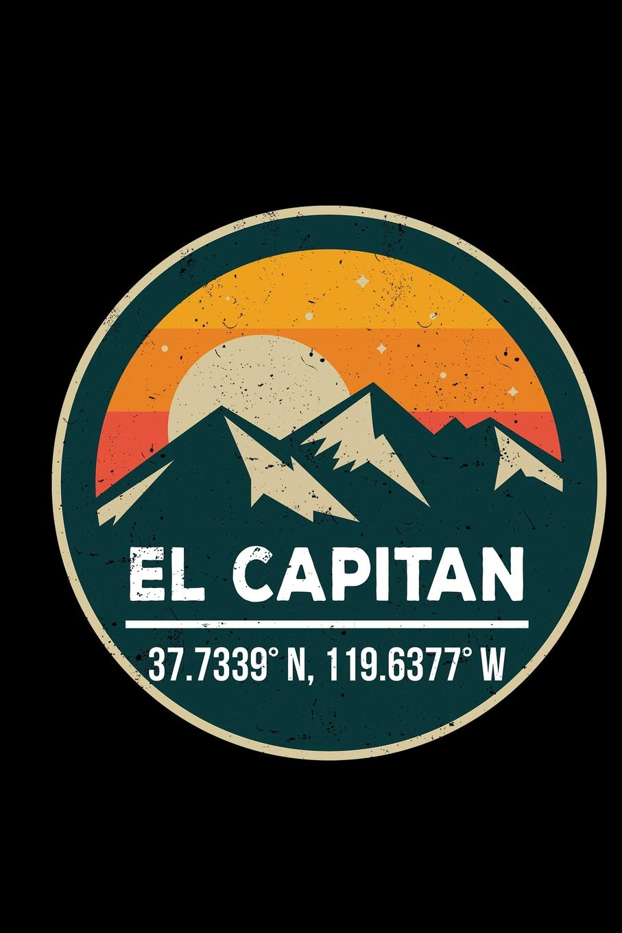 El Capitan: 6x9 inch travel size 120 pages lined journal / notebook