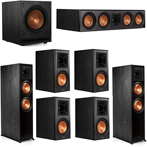 Klipsch 7.1.2 System - 2 RP-8060FA Dolby Atmos Speakers