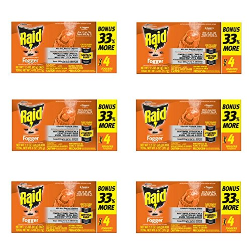 Raid Concentrated Pest Control Deep Reach Fogger 1.5 Ounces 4