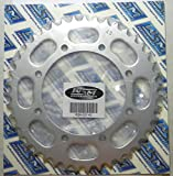 Kawasaki Steel Rear Sprocket Moto-X 650 KLR 1987-2014 43 Teeth RSK-037-43 OEM #: 42041-1260
