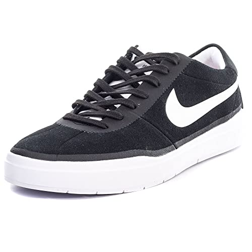 visitante Vatio notificación  Buy Nike Mens Bruin SB Hyperfeel Black/White/White Skate Shoe (10. 5) at  Amazon.in