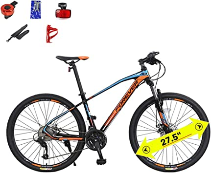 LYGID Bicicleta de Carretera competitiva 27.5 Pulgadas Acero de ...