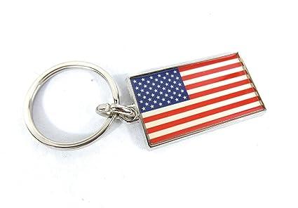 Llavero de Estados Unidos, fabricado en los Estados Unidos ...