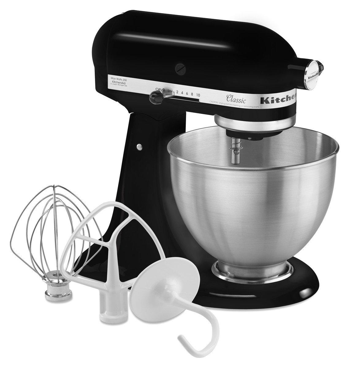Amazon.de: KitchenAid 5K45SSEWH Küchenmaschine (250 Watt) weiß