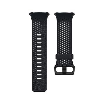 Fitbit Ionic Pulsera de Cuero, Unisex Adulto, Midnight Blue, Small: Fitbit: Amazon.es: Deportes y aire libre