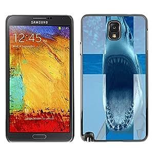 Dragon Case FOR Samsung Note 3 N9000 - Bite off your - Caja protectora de pl??stico duro de la cubierta Dise?¡Ào Slim Fit