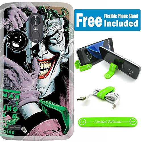 [해외][Ashley Cases] for LG [K20] [K20 Plus] [K20 V] [Harmony] [Grace LTE] [LV5] Cover Case Skin with Flexible Phone Stand - Joker Camera / [Ashley Cases] for LG [K20] [K20 Plus] [K20 V] [Harmony] [Grace LTE] [LV5] Cover Case Skin with F...