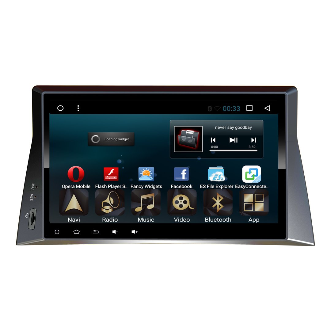 10.1 pouces 1024 * 600 android 6.01 enregistreur audio stéréo audio pour Honda Accord 2007-2013 Support Lecteur de navigation GPS Bluetooth WIFI autoradio USB (stéréo voiture avec GPS) ( Couleur :