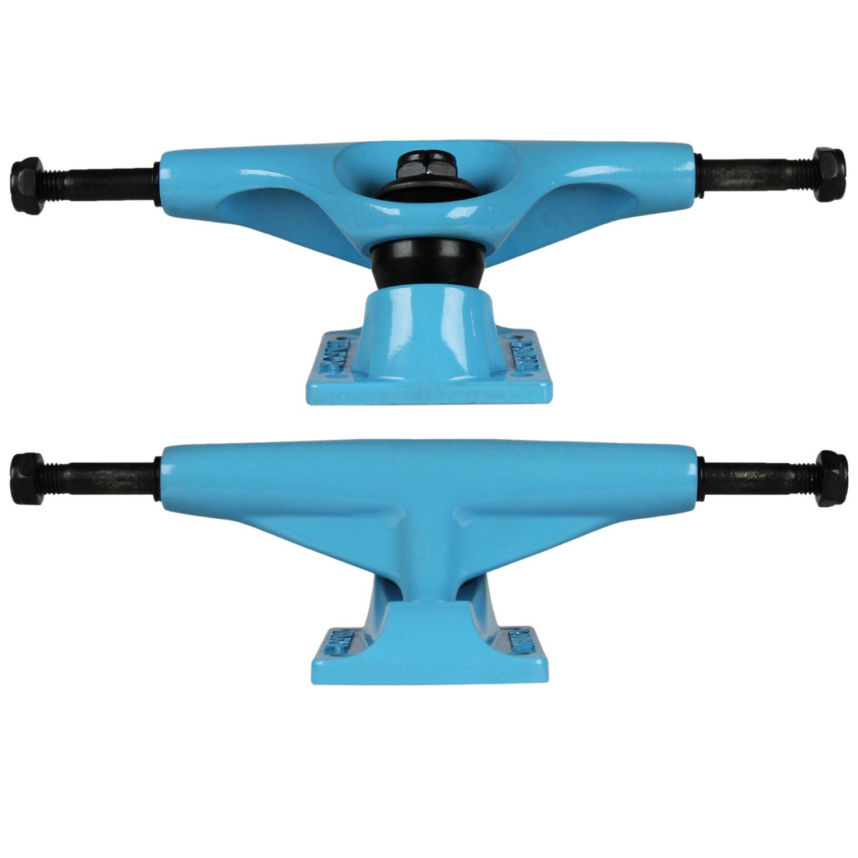 テンソルSkateboard Trucksマグネシウムブルー5.0 (ペア) 7.63