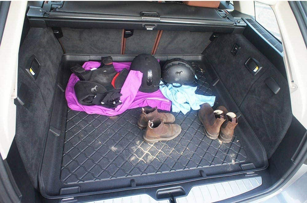 additional description: all versions 3398 MTM Boot Liner XV from 2012- Tailored Trunk Mat with Antislip cod