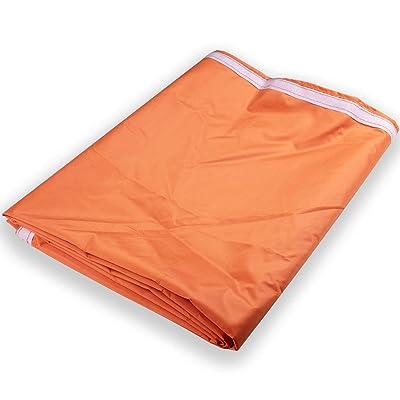 Goutime Waterproof 420D Durable Sidewall for 10x10 Straight Leg Canopies, 1 Panel (Orange) : Garden & Outdoor