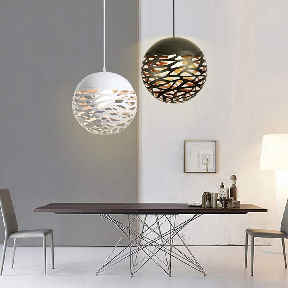 GaLon Lampadari a LED in Ferro Color : White, Size : 20CM Lampada da soffitto Europea Decorazione Piccola Lampada da soffitto Moderno Minimalista Camera da Letto Soggiorno Studio lampadario Luce
