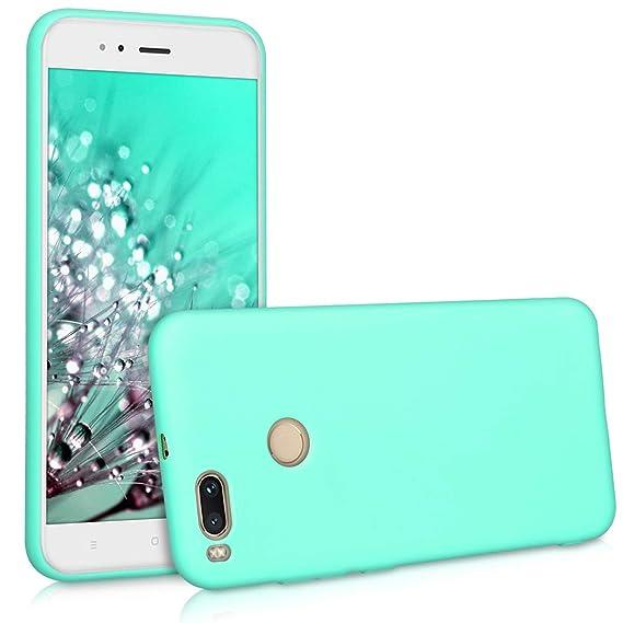 a89d44e91e5 kwmobile 42838.50 Funda para teléfono móvil Color Menta - Fundas para  teléfonos móviles (Funda, Xiaomi, Mi 5X / Mi A1, Color Menta):  Amazon.com.mx: ...