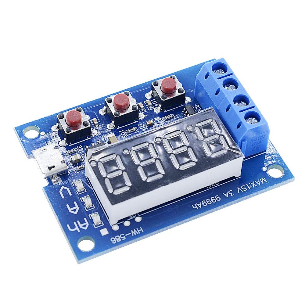 Diymore 18650 Li-ion Lithium Lead-Acid Battery Capacity Meter Discharge Tester by diymore (Image #5)