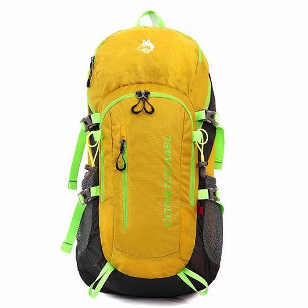 人気提案 ユニセックス ハイキング 登山バッグ 大容量防水 野生のキャンプ ハイキング レジャースポーツ ニュートラルな男性と女性 屋外での使用に適しています 軽量野外活動バッグ 黄 ユニセックス (色 : グレー) B07PNFFZNT 黄 黄, ヒタチオオミヤシ:3b36d0fc --- a0267596.xsph.ru