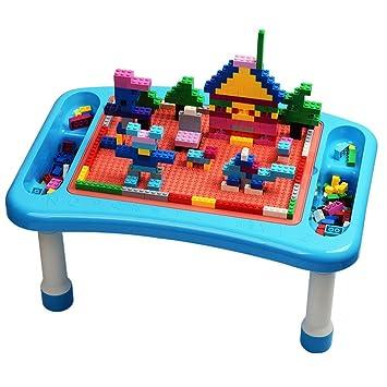 Kanqingqing Mesa De Construcción Y Aprendizaje Mesa for niños Mesa ...