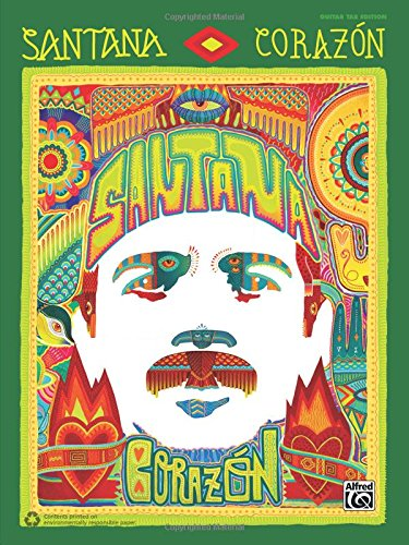 Santana: Corazón: Guitar TAB (Guitar Santana Tab)