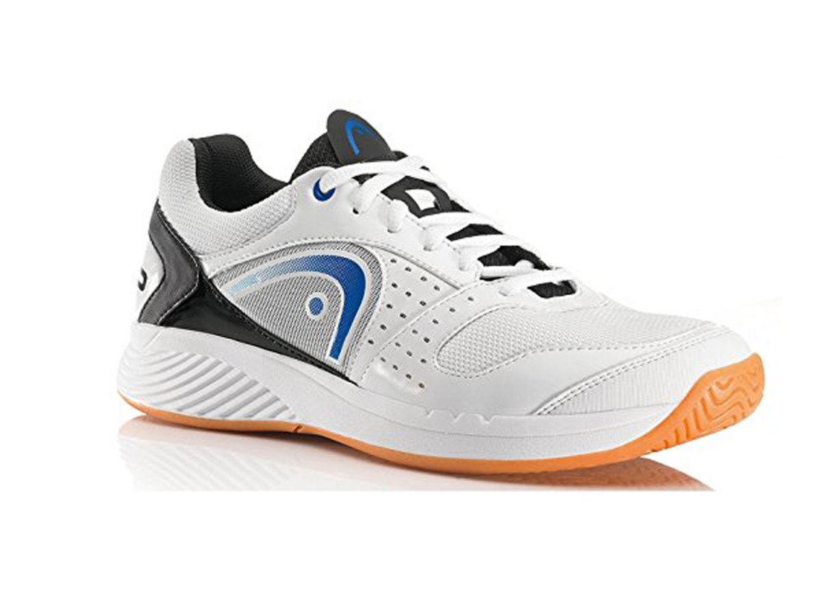 HEAD Sprint Team Mens Indoor Court Shoe (White/Blue/Black) (7)