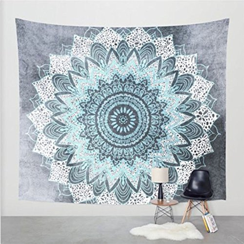 2017 Popular Boho Style Home Living Tapestry Beautiful Living Room/Bedroom Decor Multi Functional Hanging Blanket (60X82Inch, - Popular Styles