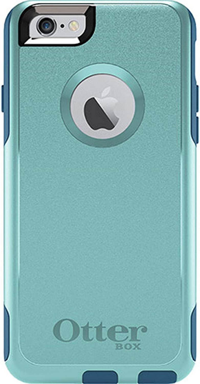 OtterBox Commuter Series Case for iPhone 6 & iPhone 6S (NOT Plus) - Non-Retail Packaging - Aqua Blue/Deep Water
