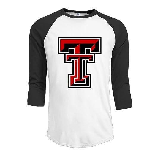 e9f23943b415 Boy Texas Tech Red Raiders Football 3 4 Raglan Shirts Baseball Jerseys