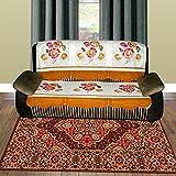 Vivek Homesaaz Chindi Carpet, Abstract Design ,Size:2.5' X 4'