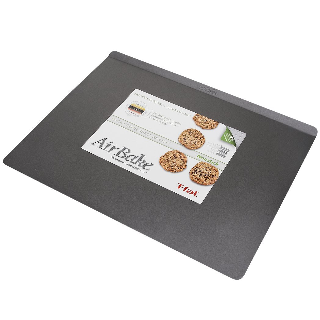 Airbake Non-Stick Mega Cookie Sheet, 20 x 15.5in WearEver 84811